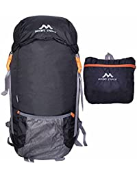 MOUNT TRACK Nylon 9303 Foldable Waterproof 30L Black Rucksack