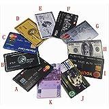 SUNNY-MERCADO Nuevo modelo de tarjetas de crédito de la moda del usb de memoria 2.0 disco pulgar pen drive unidad flash palillo 1GB-32GB, K, K