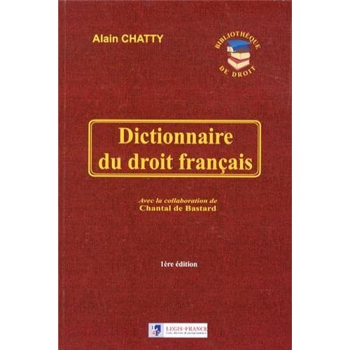 Dictionnaire du droit français