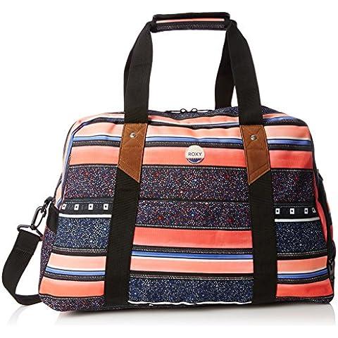 Roxy Sugar It Up - Bolsa de tela y de playa, color negro, 47 cm