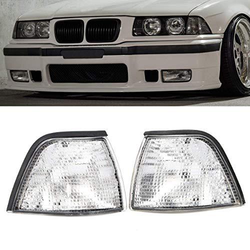 Preisvergleich Produktbild VISTARIC Seitenleuchten für BMW E36 3-Series 2DR Coupe / Convertible Lens Clear