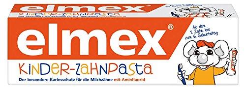 elmex Kinder-Zahnpasta, 2er Pack (2 x 50 ml)