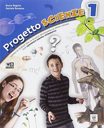 Progetto scienze. Per la Scuola media. Con DVD. Con e-book. Con espansione online: 1