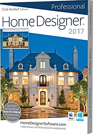 Home Designer Pro 2017 (PC/Mac)