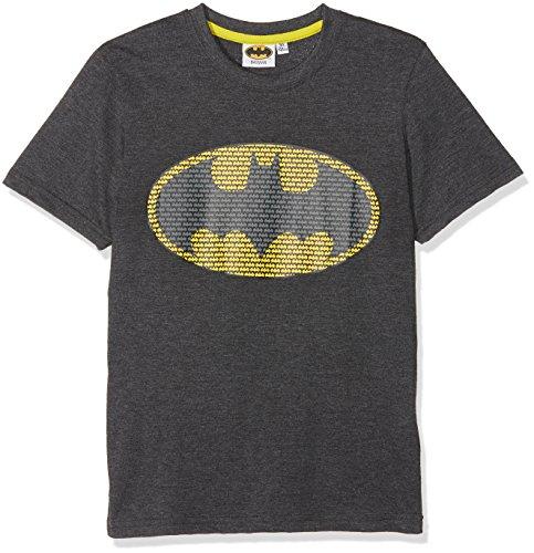 Batman 174102 - T-Shirt - Garçon - Gris (Anthracite) - Taille: 4 Ans (104)
