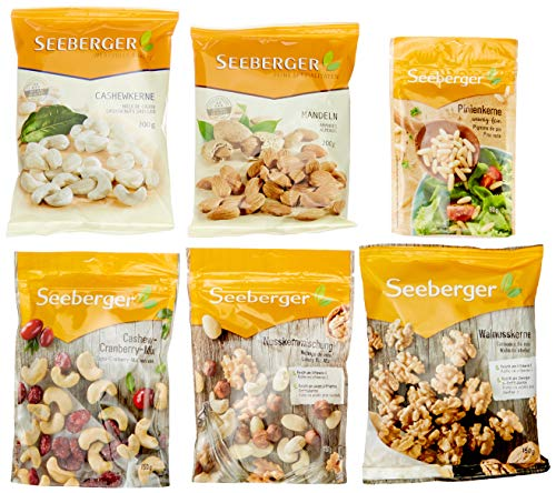 Seeberger Mix Box Wertvolle Snacks, 1er Pack (1 x 2460 g)
