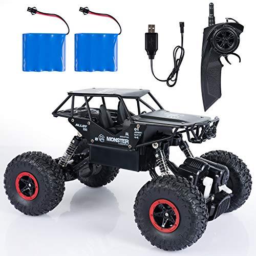 ANTAPRCIS RC Voiture Télécommandée - 1:14 4WD 2.4Ghz Tout-Terrain Camion Buggy - à...