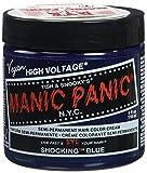 Manic Panic Semi-Permament Haircolor Shocking Blue 4oz