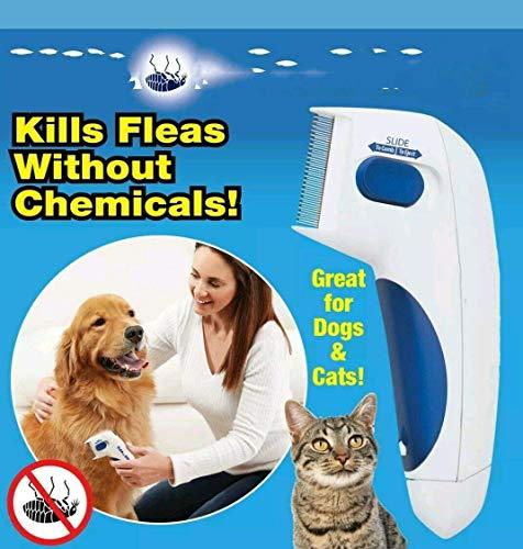 Elektronischer Läuse-kamm (NOII Flea Doctor,Elektrische Bürste Kamm Kopf Läuse Entfernung Hund Reinigung Capture Tool)