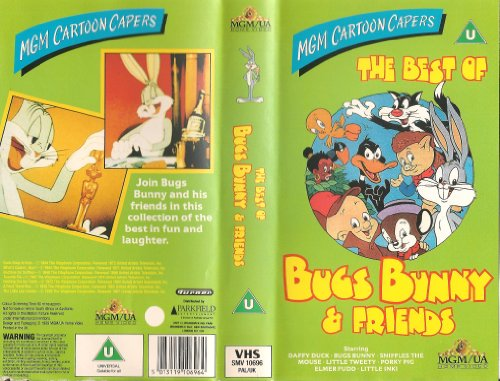 Best of Bugs Bunny & Frnds [VHS]