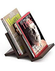 Bluewud Isvia Magazine Holder Rack Cum Newspaper Stand-Ideal for Gifts.
