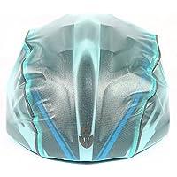 MaMaison007 WOLFBIKE Ciclismo impermeabile di Rain Cover impermeabile casco Cap bicicletta casco cappuccio - blu - Bicicletta Cap