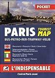 Plan de ville - Paris (en anglais, allemand, espagnol et italien)