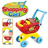 Toys Bhoomi Super Fun Mini Shopping Trolley with Toy Play Food Kitchen Set Toys for Kids