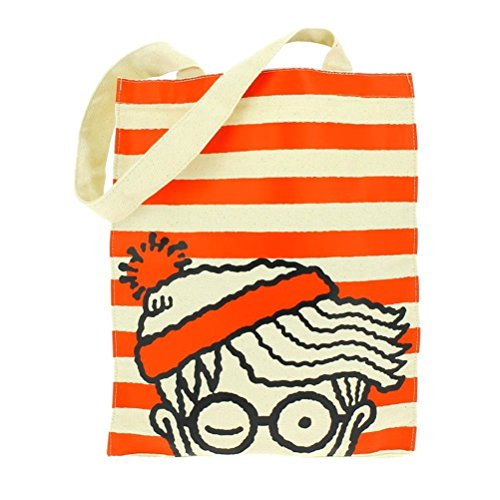 official-wheres-wally-cotton-tote-reusable-shopping-shopper-bag
