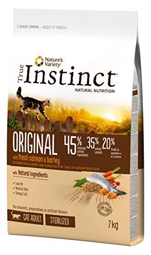 True Instinct pienso para gatos esterilizados Original salmon