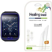 Healingshield Samsung Gear S Matt (antirreflejos, antihuellas) Full funda tipo Protector de pantalla [frente 3piezas]