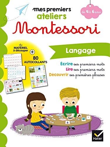 Montessori Langage 4-6 ans par Sophie Tovagliari