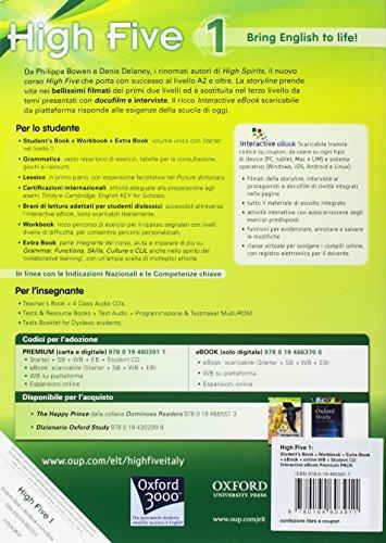 High-five-Students-book-Workbook-Exam-trainer-Con-e-book-Con-espansione-online-Con-CD-Audio-Per-la-Scuola-media-1
