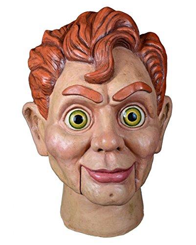 Slappy the Dummy Maske (Tragen Anzug Realistische)