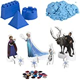 ColorBaby - Arena mágica frozen, 3 moldes azul (76745)