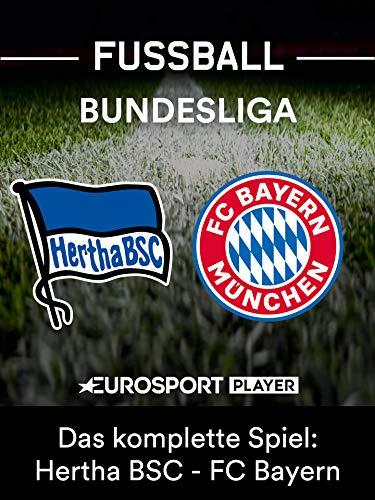 Geschenkideen Das komplette Match: Hertha BSC gegen FC Bayern München