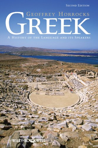 Greek: A History of the Language and Its Speakers por Geoffrey Horrocks