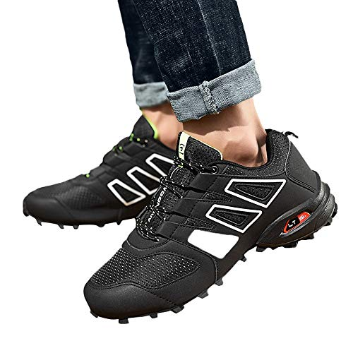 Scarpe da corsa uomo sportive,sneakers uomo elegante,stivali da equitazione,yanhoo scarpe da trekking resistenti agli scivoli da uomo stivali impermeabili scarpe da arrampicata all'aperto