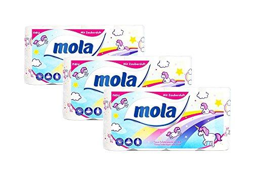 *Einhorn LIMITED EDITION Toilettenpapier 24 Rollen a 150 Blatt MEGA PACK GESCHENKIDEE*