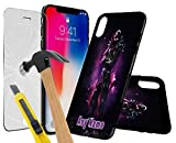 Huawei P9 FORTNITE PERSONALSED PRINTED DESIGN CASE, Choose Iniatals, Name, Any Word, Create Your Own, Unique Custom Cool Design Protective Hard back Slim Thin Fit PC Bumper Case with 9H Hardness Screen Protector Tempered Glass for r for Huawei P9 - FORTNITE PERSONALSED, Battle Royale Design A0025
