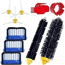 Zacro Cepillos Reposición de Accesorios para Aspiradoras iRobot Roomba Serie 600 620 630 650 660-