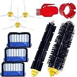 Zacro Cepillos Reposición de Accesorios para Aspiradoras iRobot Roomba Serie 600 620 630 650 660--un Conjunto de 10