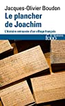 Le plancher de Joachim  par Boudon