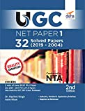 UGC NET Paper 1 - 32 Solved Papers (2019 to 2004) 2nd Edition