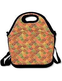 Tumblr de sirena escala almuerzo bolsa bolso fiambrera para la escuela trabajo al aire libre