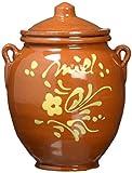 La Orza de Valderomero Orza de cerámica con miel multifloral de temporada seleccionada de La Alcarria 250 gr.