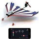 POWERUP 500–004blaero Dart Kunstflug-Smartphone Kontrollierte Papier Flugzeug