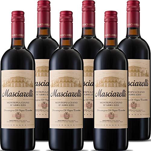 Montepulciano d'Abruzzo DOC | Masciarelli | Vino Rosso Classico | 6 Bottiglie 75 Cl | Idea Regalo