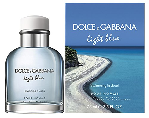 Dolce&Gabbana Light Blue Pour Homme Swimming in Lipari eau de toilette 75 ml spray
