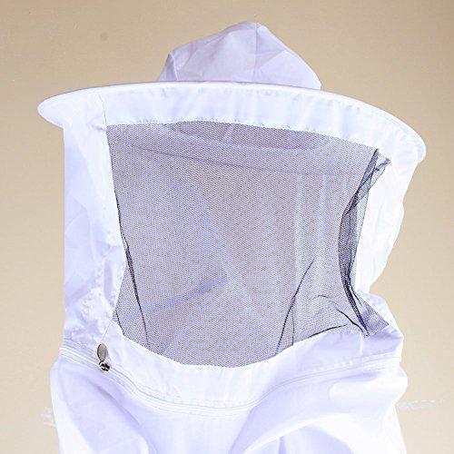 yosoo-Jacke Schutz mit Voile-Imker Reißverschluss-Tool Bienenzucht Zubehör Kleidung für ()