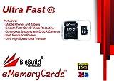64GB Ultra schnelle 80MB/s Speicherkarte für Motorola Moto E E5 Play, G Play G6, X4, Z Play Z3 Mobile | Klasse 10 MicroSDXC | BigBuild Technology
