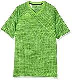 ADIDAS Jungen Messi Kurzarm-Shirt, Solar Green, 152