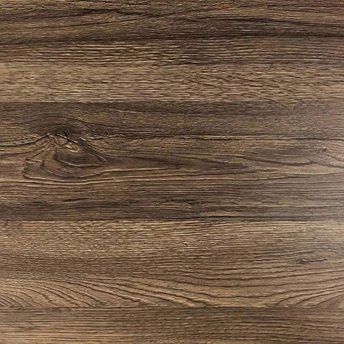 Klebefolie in rustikaler Holz-Optik [200 x 67,5cm] I Selbstklebende Folie für Möbel Küche & Deko I Blickdichte Selbstklebefolie hitzebeständig & abwaschbar I 3D Holz-Maserung Dekor Sommer-Eiche Dunkel Küche Dekor