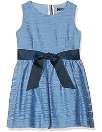 Tommy Hilfiger Eid Enchanting Organza Dress Slvls, Vestido para Niñas