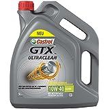 Castrol 15A4D5 GTX Ultraclean 10W-40 A3/B4 5L, Grey,
