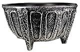 Grabschale Bonn Metall Aluminium pat., D=40cm H=18cm
