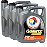 3x MOTORÖL TOTAL QUARTZ INEO FIRST 0W-30 5L