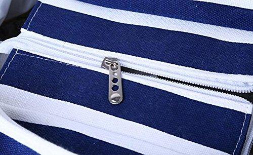 Luzuzi - Sacchetto donna Multicolore (Blu profondo)
