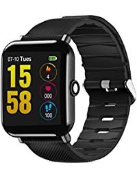 Smartwatch Sport Bluetooth 4.0, OUKITEL W2 Sports Smartwatch Intelligente  Armbanduhr Fitness Tracker… adb0bdc5dd