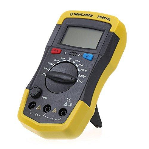 Kondensator Tester - NEWCASON LCD Digitaler Meter XC6013L Kapazitaet KondensatorTester mF uF Schaltungs Spur Kapazitaetsmessgeraet Tester